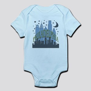 Philly Skyline cool Infant Bodysuit