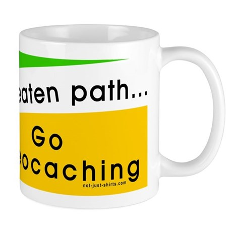 Geocaching Off the Path Mug