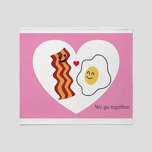 Pink Heart Valentine Bacon & Eggs in Love Stadium