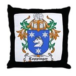 Coppinger Coat of Arms Throw Pillow