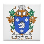 Coppinger Coat of Arms Tile Coaster