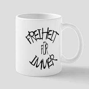 Freiheit für immer (Freedom forever) Statement Mug