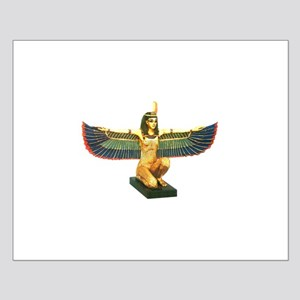 Winged Maat Small Poster