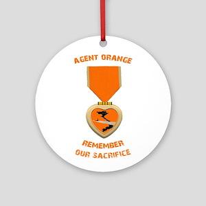 Agent Orange Ornament (Round)