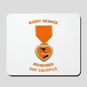 Agent Orange Mousepad