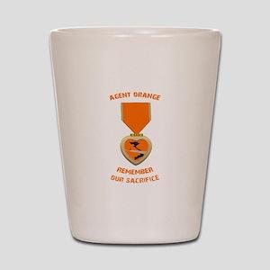 Agent Orange Shot Glass