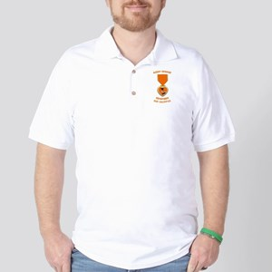 Agent Orange Golf Shirt