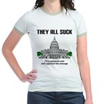 They All Suck Jr. Ringer T-Shirt