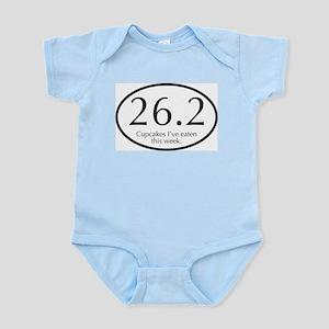 26.2...Cupcakes I've eaten this week. Infant Bodys