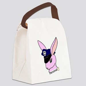 Personal Badge Bunny (Fiance) Canvas Lunch Bag