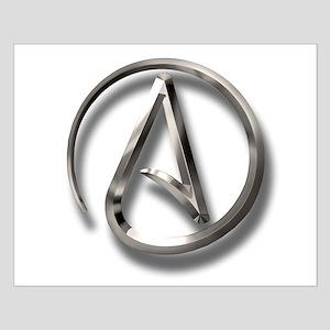 International Atheism Symbol Small Poster