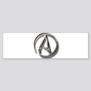 International Atheism Symbol Sticker (Bumper)