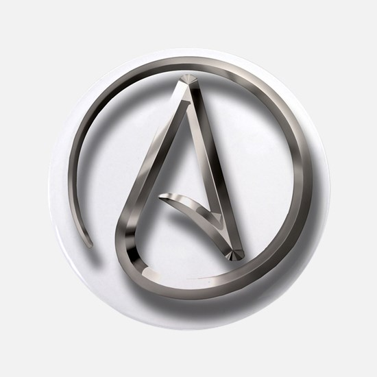 "International Atheism Symbol 3.5"" Button"