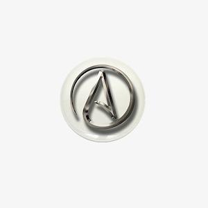 International Atheism Symbol Mini Button