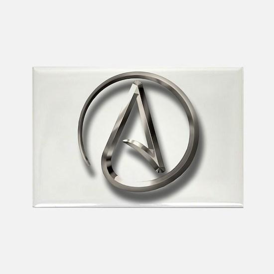 International Atheism Symbol Rectangle Magnet