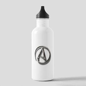 International Atheism Symbol Stainless Water Bottl