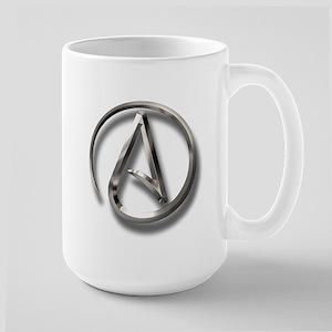 International Atheism Symbol Large Mug