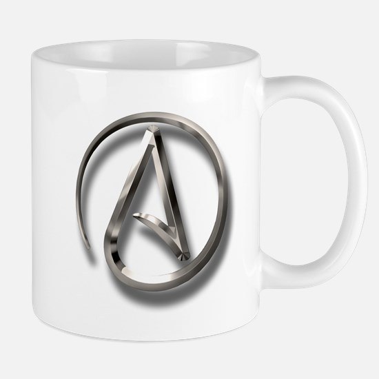 International Atheism Symbol Mug