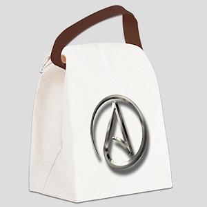 International Atheism Symbol Canvas Lunch Bag