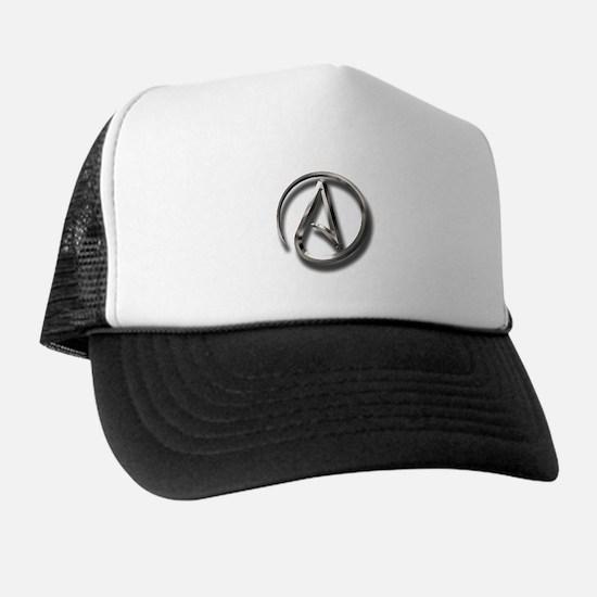 International Atheism Symbol Trucker Hat