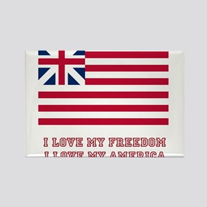 The Flag of Great Union Rectangle Magnet