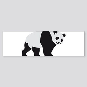 panda bear Sticker (Bumper)