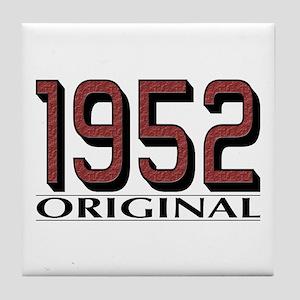 1952 Original Tile Coaster