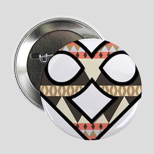 "Infinite Love Aztec Symbol / Logo 2.25"" Button"