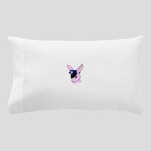 Badge Bunny (Centered) Pillow Case