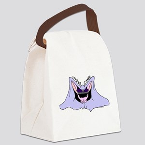 Undercover Bunny(Large) Canvas Lunch Bag