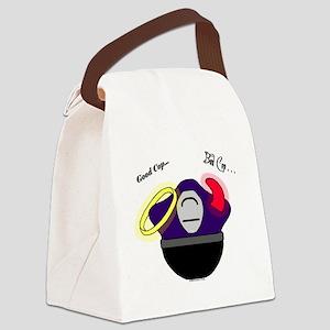 GoodCop.BadCop Canvas Lunch Bag