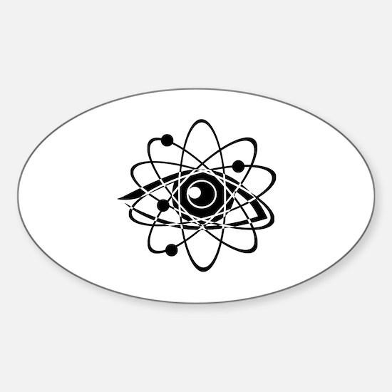 Chemistry Sticker (Oval)