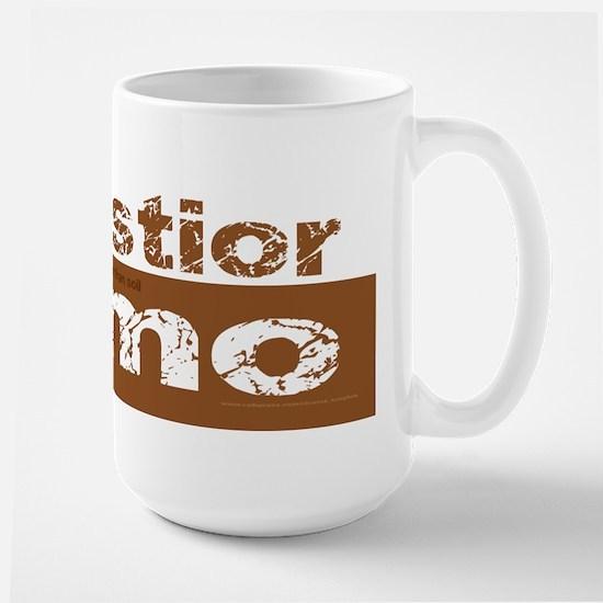 Older Than Dirt (Latin) Large Mug