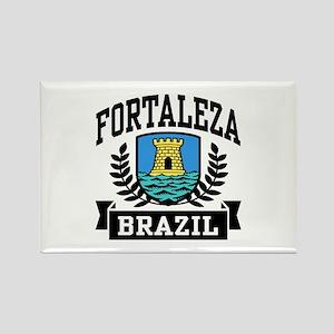 Fortaleza Brazil Rectangle Magnet