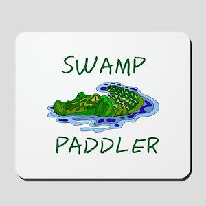 Swamp Paddler Mousepad