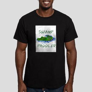 Swamp Paddler Men's Fitted T-Shirt (dark)