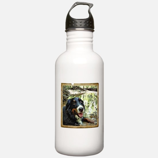 Berner by a Stream Sports Water Bottle