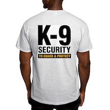k-9 Dog Handler T-Shirt Security Guard