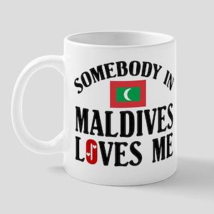 Somebody In Maldives Mug