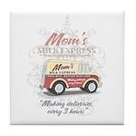 MM Mom's Milk Express Tile Coaster