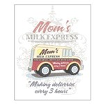 MM Mom's Milk Express Small Poster