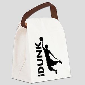 iDunk Basketball Canvas Lunch Bag