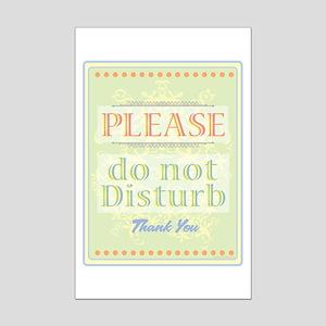 Do Not Disturb Mini Poster Print