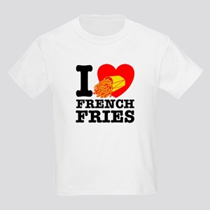 I Love French Fries Kids T-Shirt