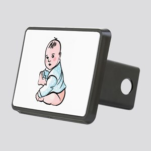 Baby Rectangular Hitch Cover