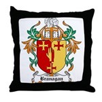 Branagan Coat of Arms Throw Pillow