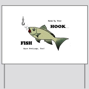 Hang Up Your Hook Yard Sign