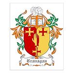 Branagan Coat of Arms Small Poster