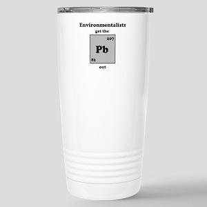 Environmentalist Stainless Steel Travel Mug