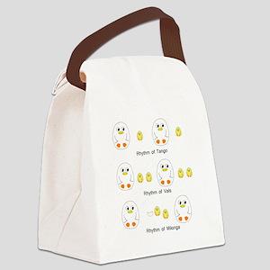 Rhythms Canvas Lunch Bag